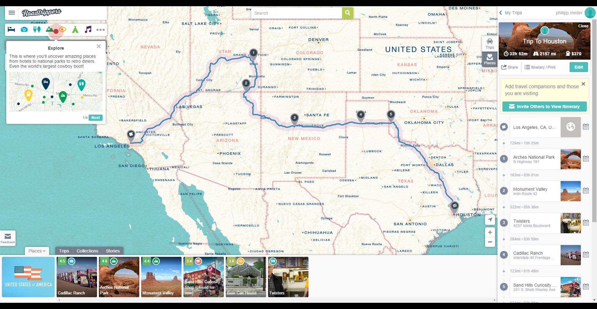 Trip To Houston Roadtrip - Roadtrippers